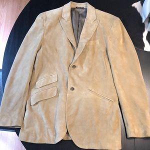 Banana Republic men's suede jacket